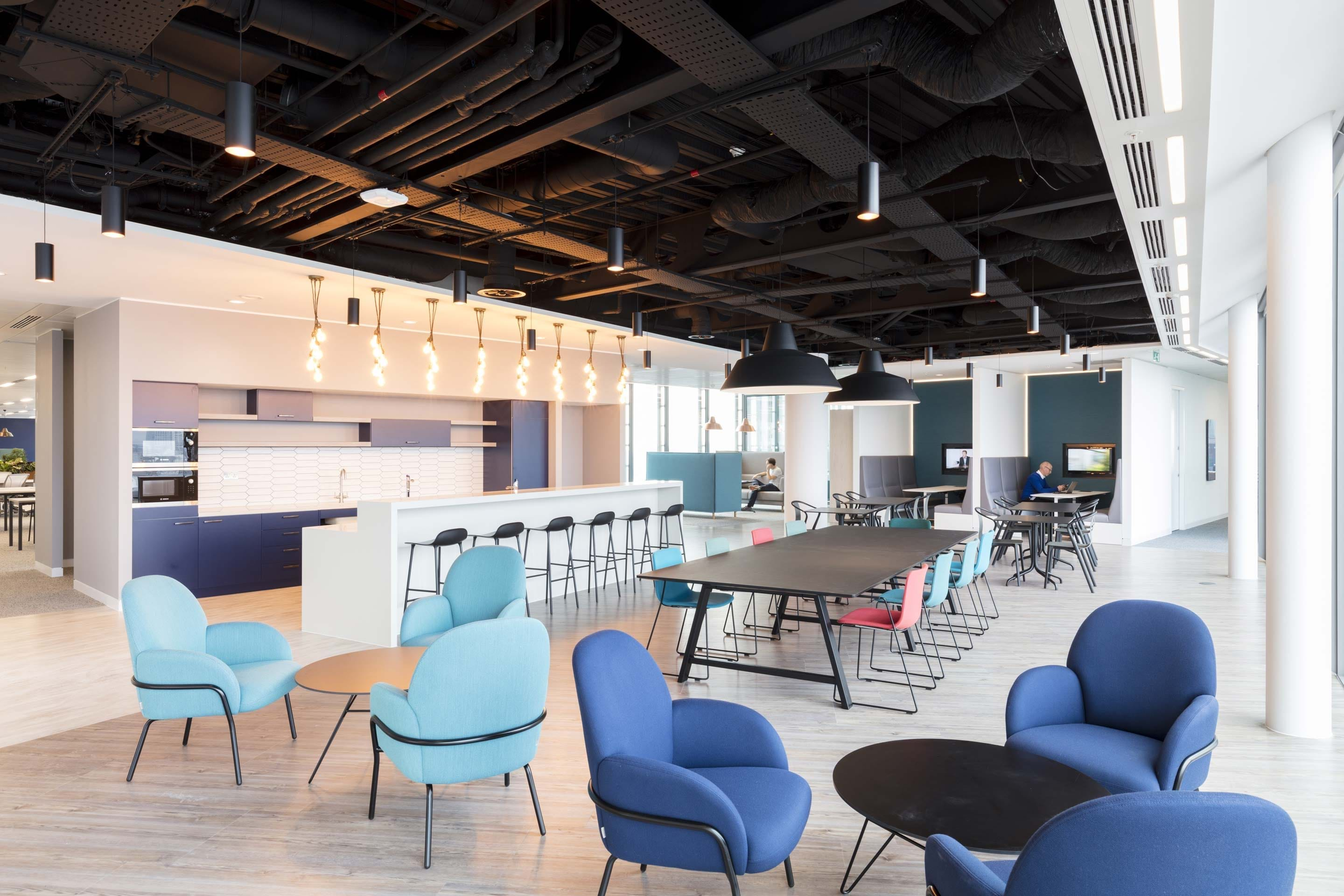 NBC Universal – Kitchen and breakout space