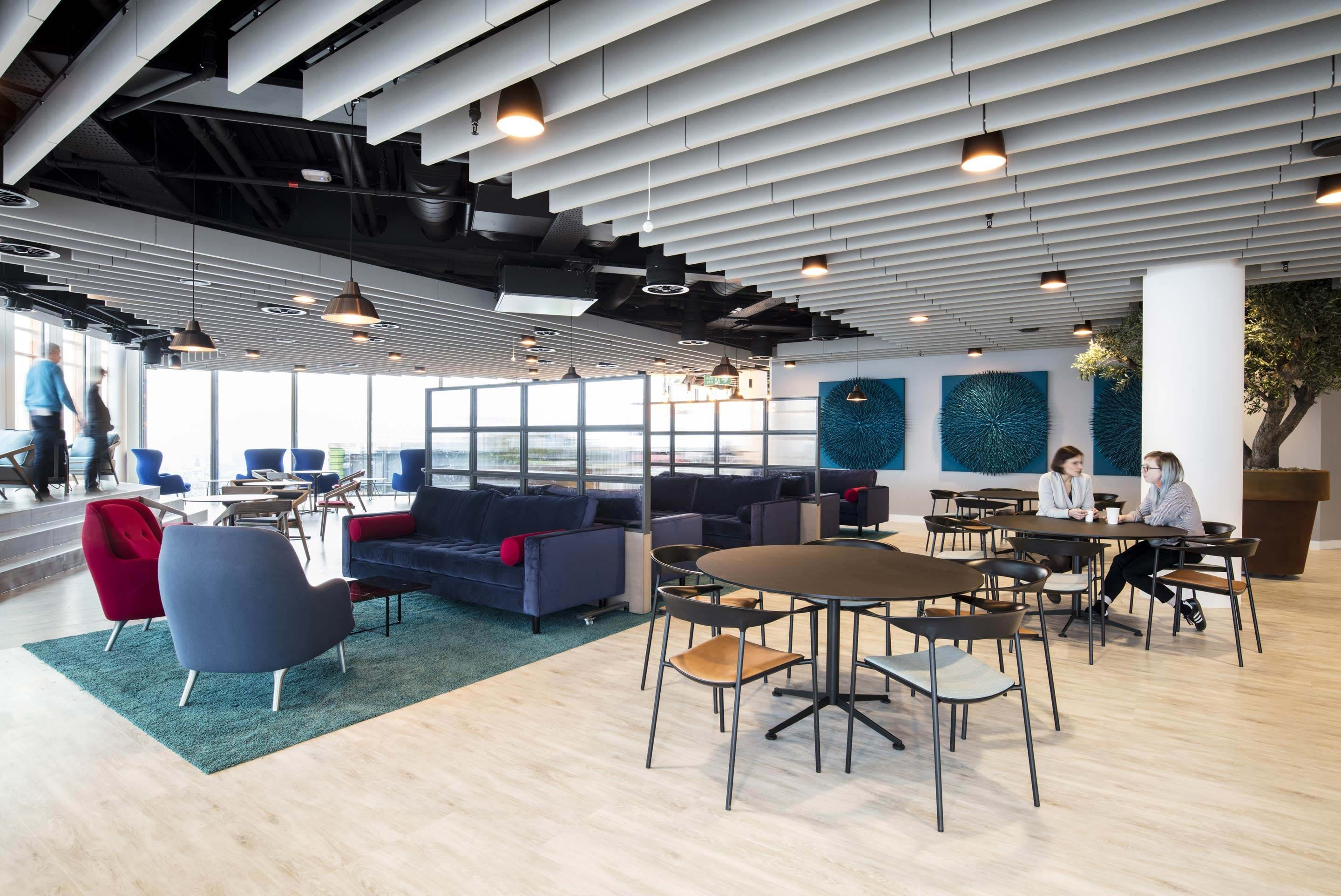 NBC Universal – Breakout space in the Skyline coffee bar