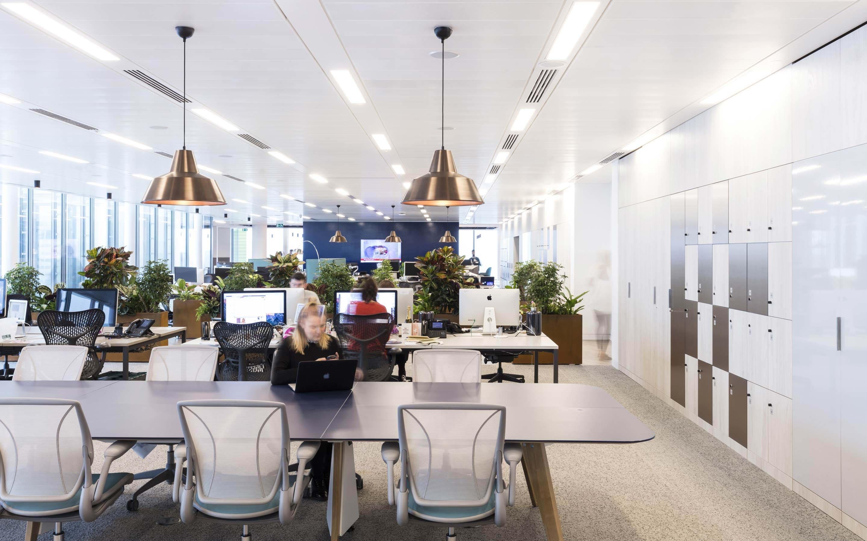 NBC Universal – Hot desks and permanent desk spaces