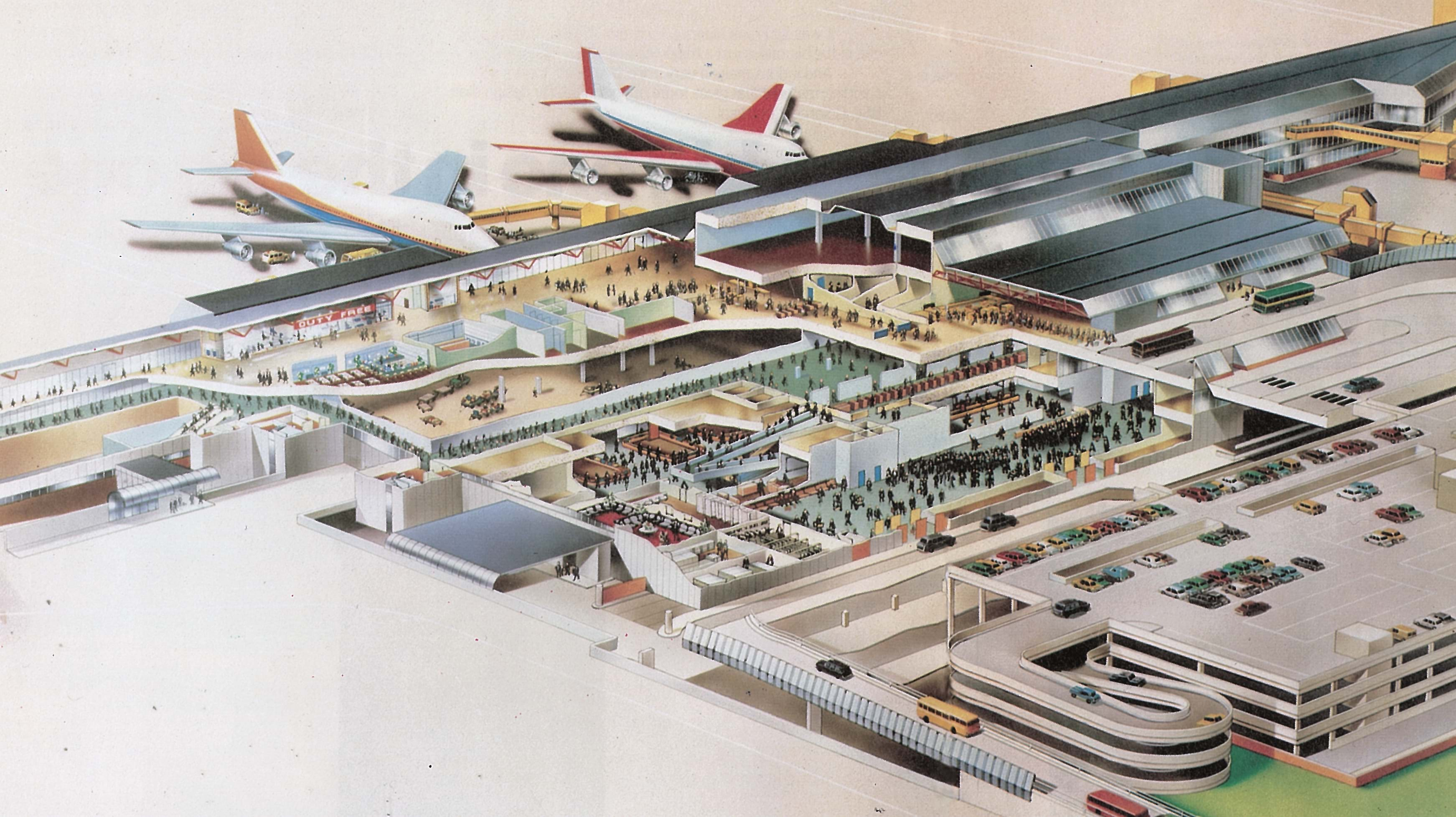 Exploded View Of Terminal