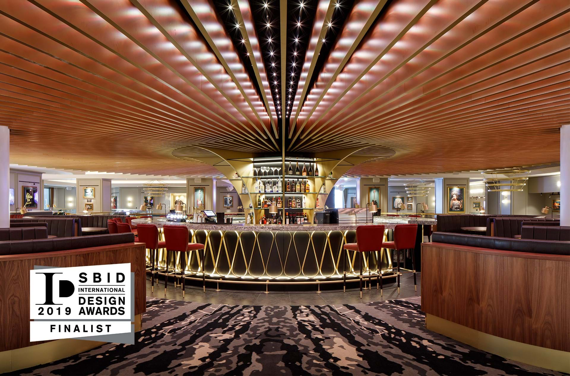 Hard Rock Hotel London A Finalist At The Sbid International Design Awards