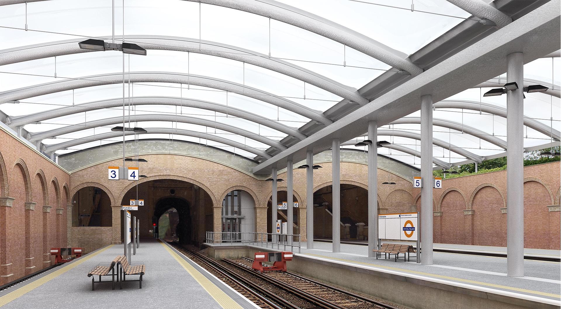 4 Crystal Palace Station
