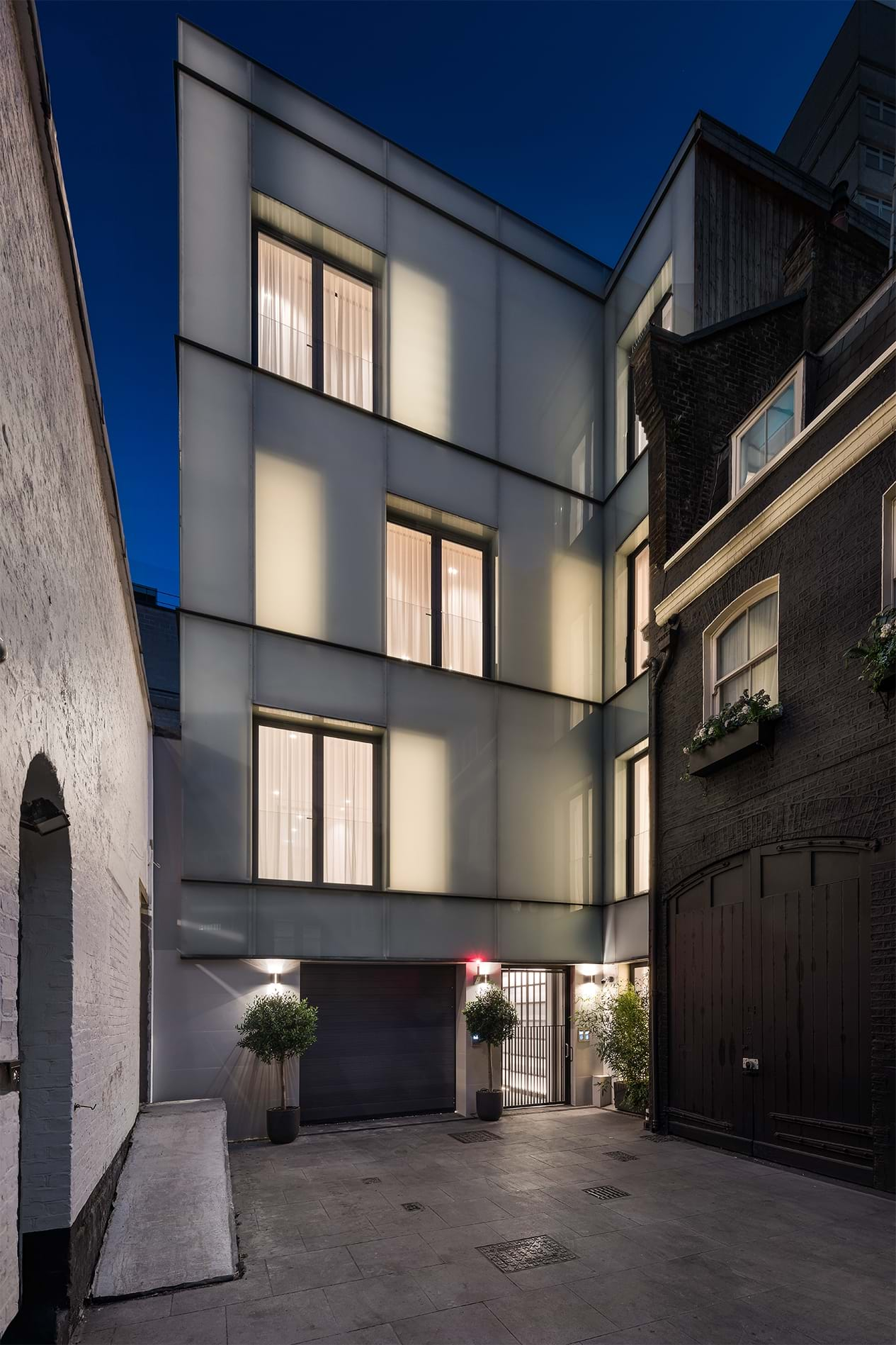 Down Street Mews Completed 1