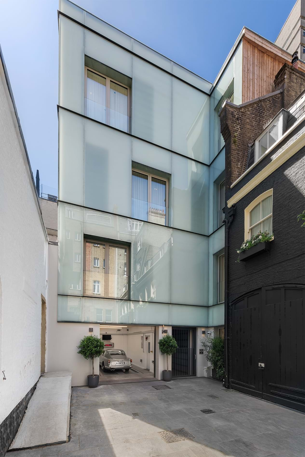 Down Street Mews Completed 2